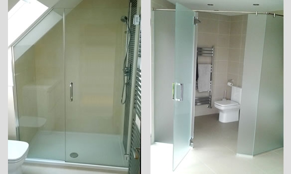 Table Top and Shower Screen